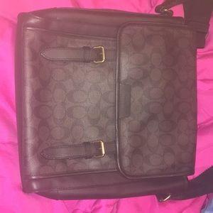 mens coach brand new bag